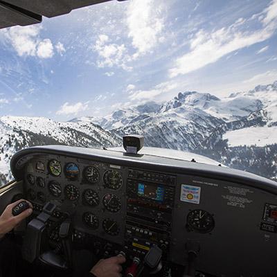Qualification Site Courchevel Alpine AIrlines