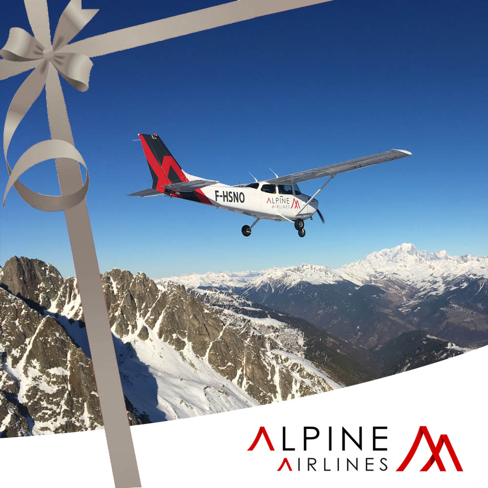 Gift Voucher Flight Mont Blanc