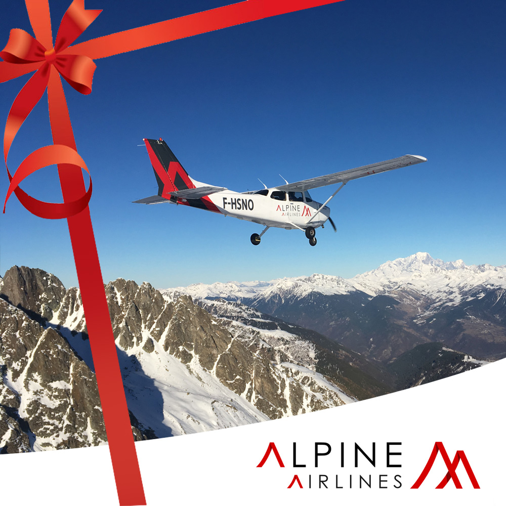 Gift Voucher Flight Mont Blanc [ Private ]