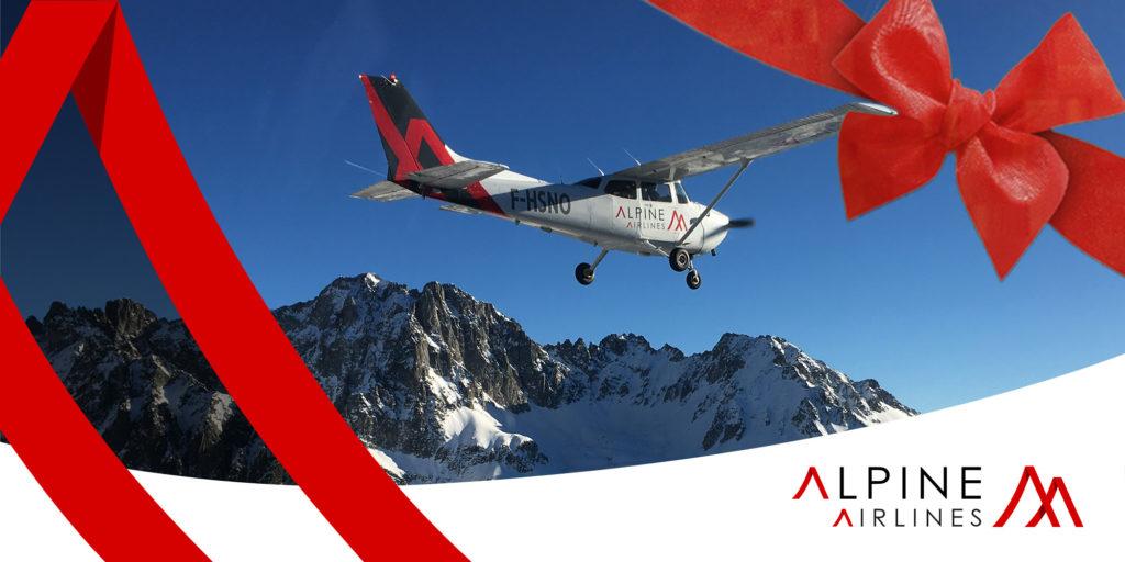 Bon cadeau Mont Blanc Alpine Airlines