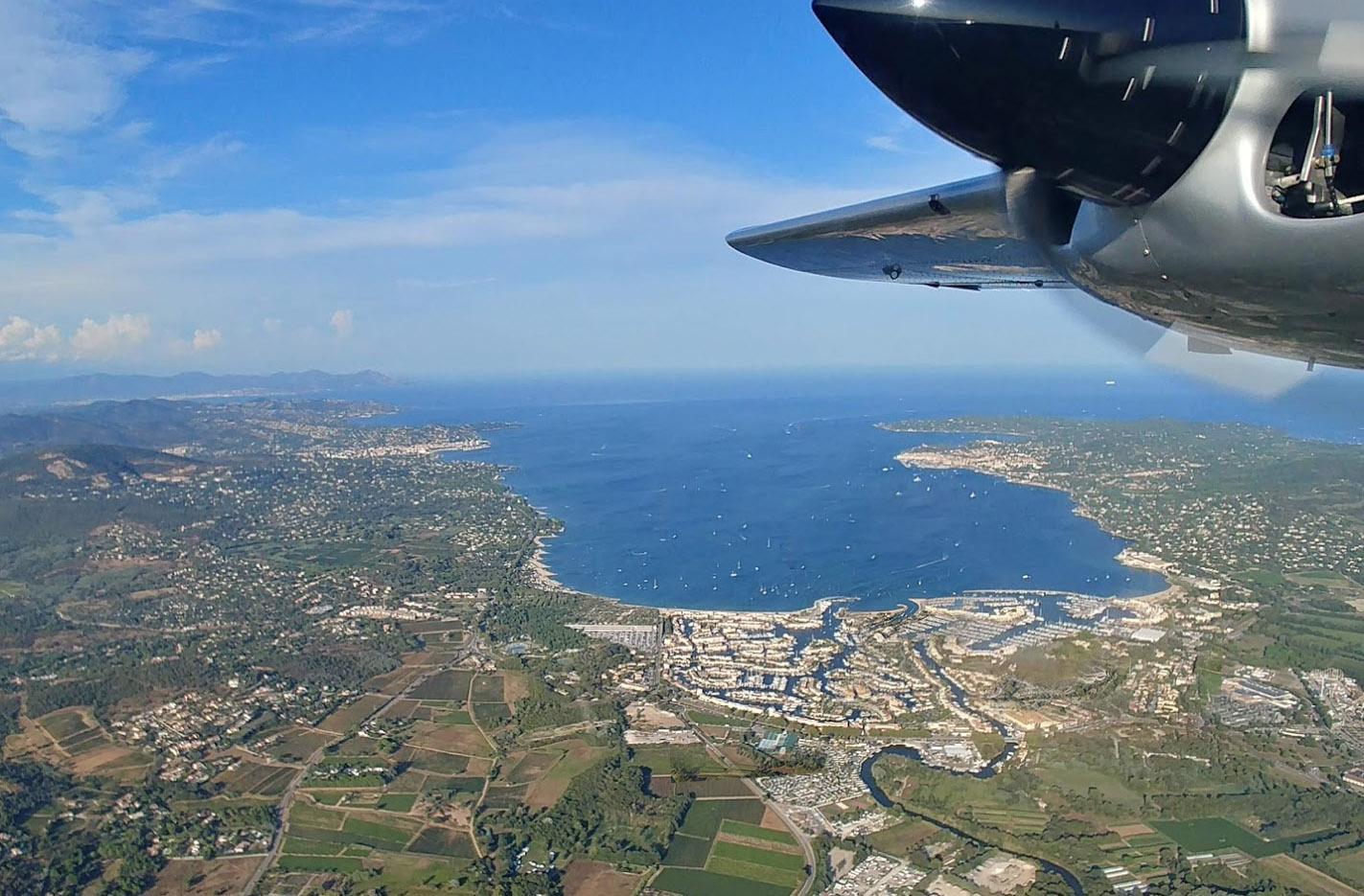 Vols Corse et Sardaigne au départ de la Côte d'Azur