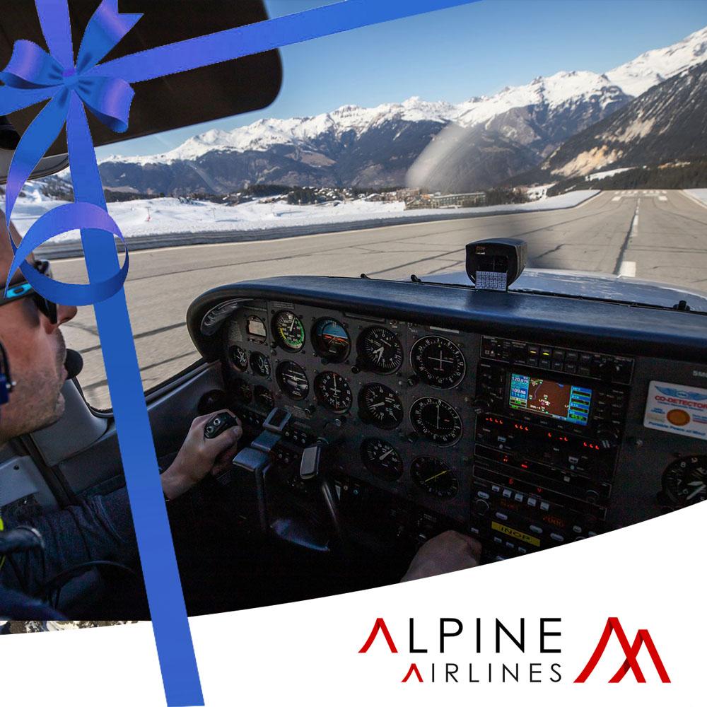 Gift Pack Flight initiation mountain flight