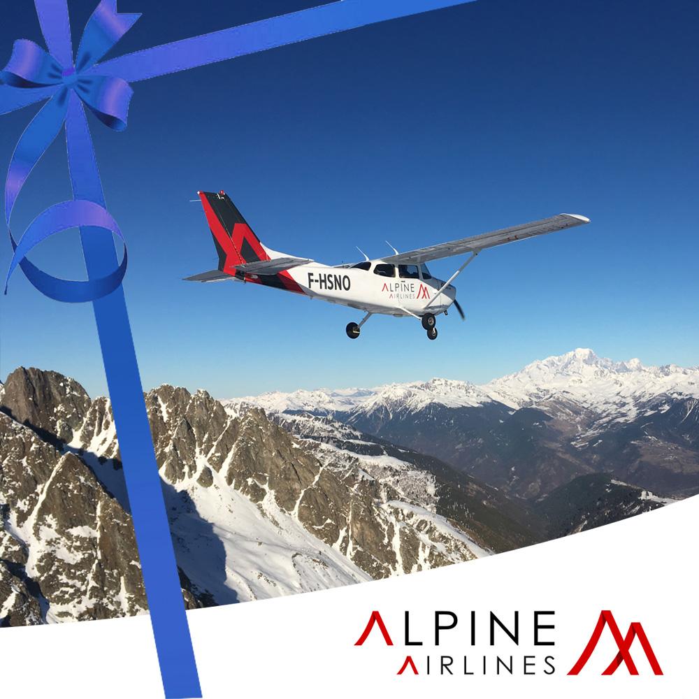 Bon Cadeau Vol Mont-Blanc (3 personnes)