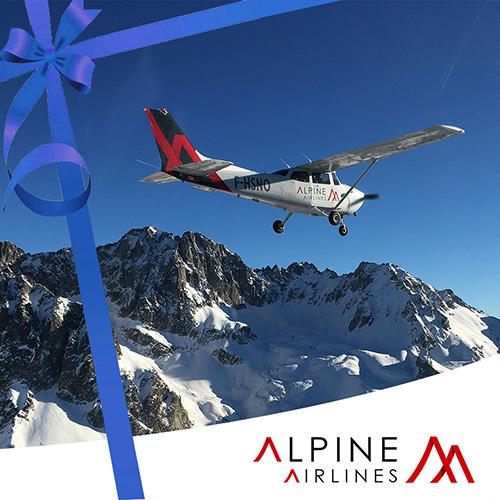 Bon Cadeau Vol Grandes Alpes