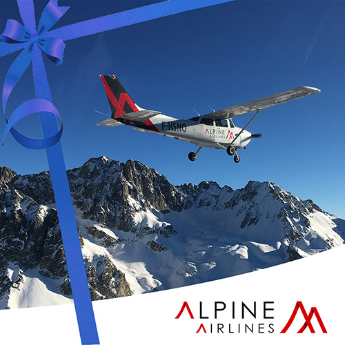 Bon Cadeau Vol Grandes Alpes (3 personnes)
