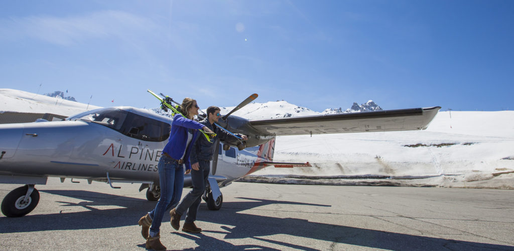 Altiport de Courchevel Transferts Air Taxi Alpine Airlines