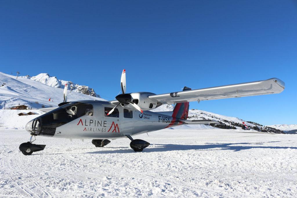 P68 Courchevel Alpine Airlines